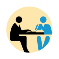 Meeting Process Receive requests for a one-hour in person or video conference meeting through our user-friendly pre-scheduled calendar system that you set when creating your profile. You always have the choice to accept or decline any meeting request.