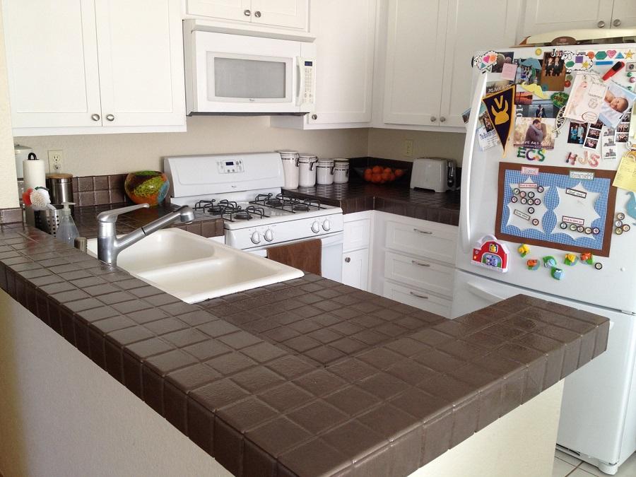 Interior Redesign DIY Kitchen Countertop Quick Fix — The Redesign Habit