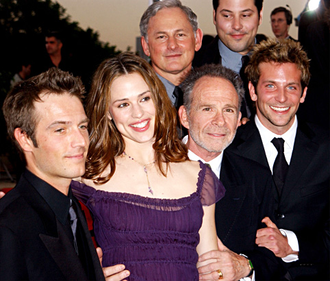 Bradley Cooper with the Alias Cast
