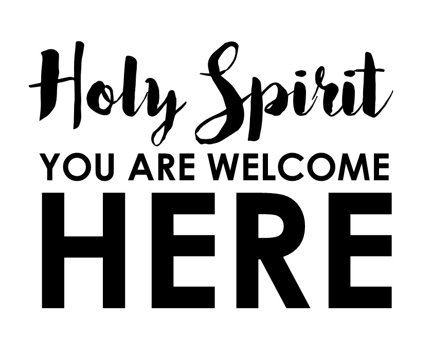 holy spirit you are