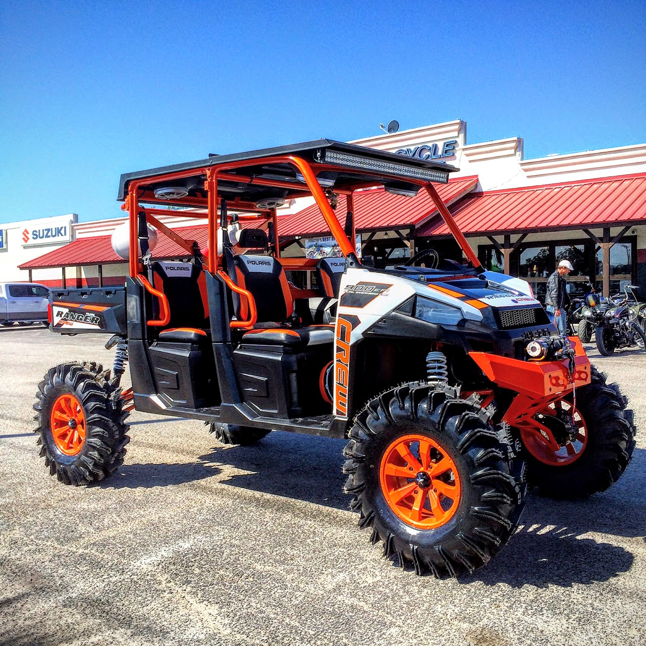 hight resolution of wc3 woods cycle country customs new braunfels texas custom polaris ranger and ranger crew 4