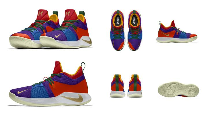 """Image result for NIKEiD PG2 """"Coloring Book"""""""
