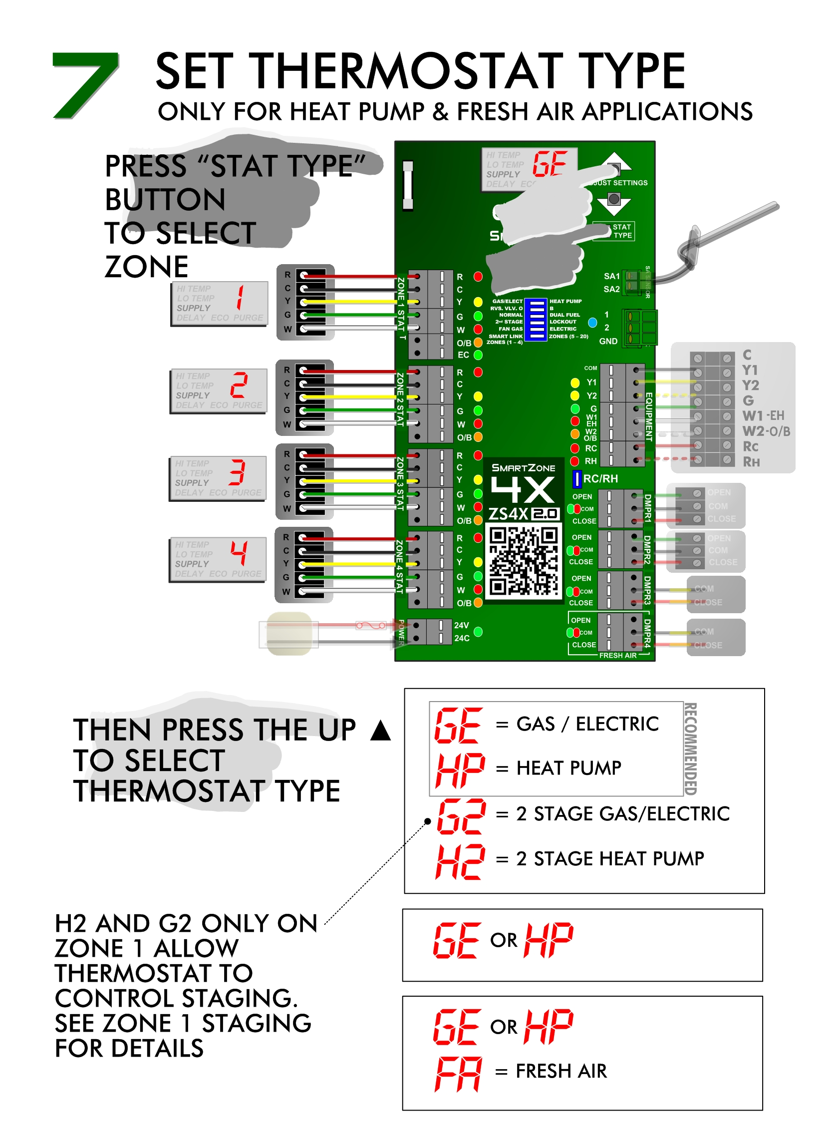 small resolution of smartzone install thermostat settings