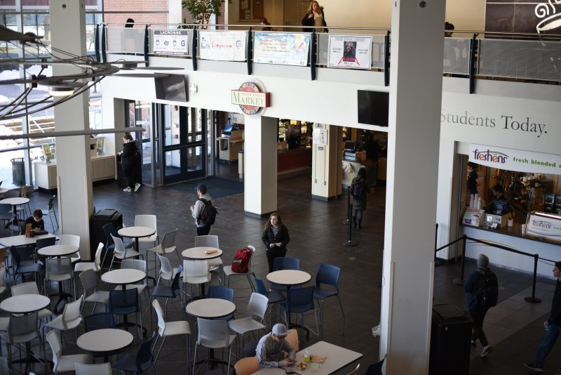 Despite the fact that the Union is known to many as a hub of food, the focus on healthy groceries is still a welcome alternative to the ever-popular pizza and burritos of the Union Street Market. (Charlotte Lao/The Daily Campus)