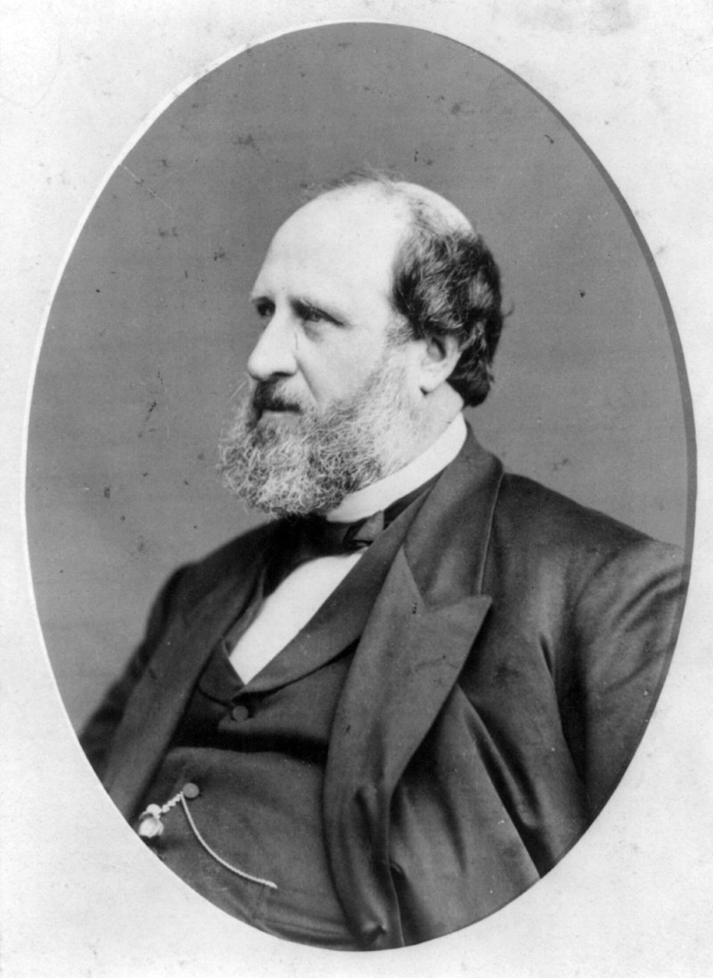 "On Dec. 4, 1875, William Tweed escaped from jail and fled overseas to avoid jurisdiction. Tweed was nicknamed ""Boss Tweed"" for his involvement in Tammany Hall, the Democratic political machine based in New York. ( Public Domain/Wikimedia Commons )"
