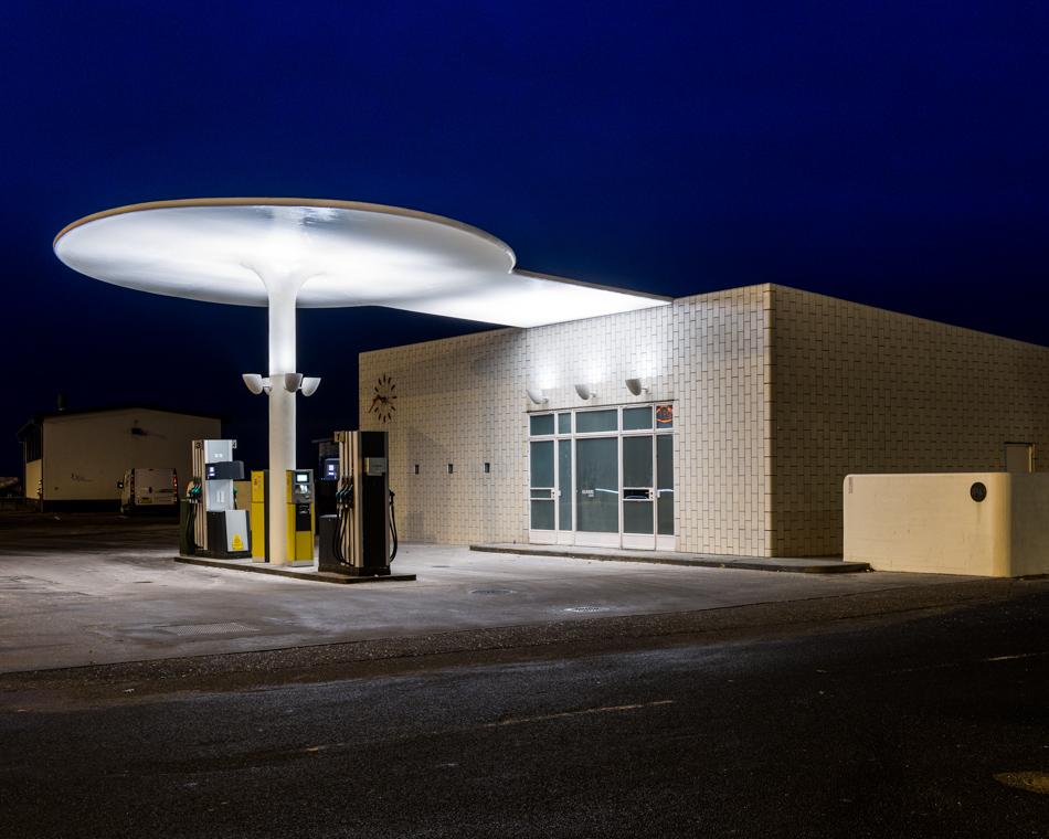 Arne Jacobsens Petrol Station Denmark  Alastair Philip