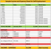 Proof Of Income For Self Employed. 1099 forms for ...