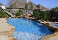 Friendswood  Backyard Amenities | Houston Pool Builder ...