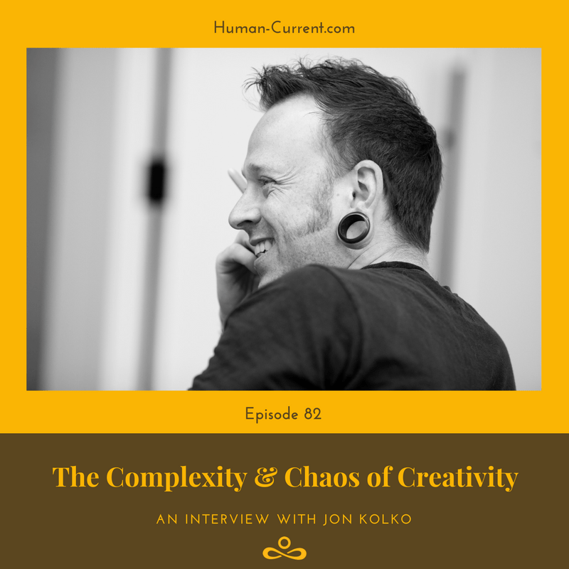 Cover art for The Complexity & Chaos Of Creativity featuring Jon Kolko