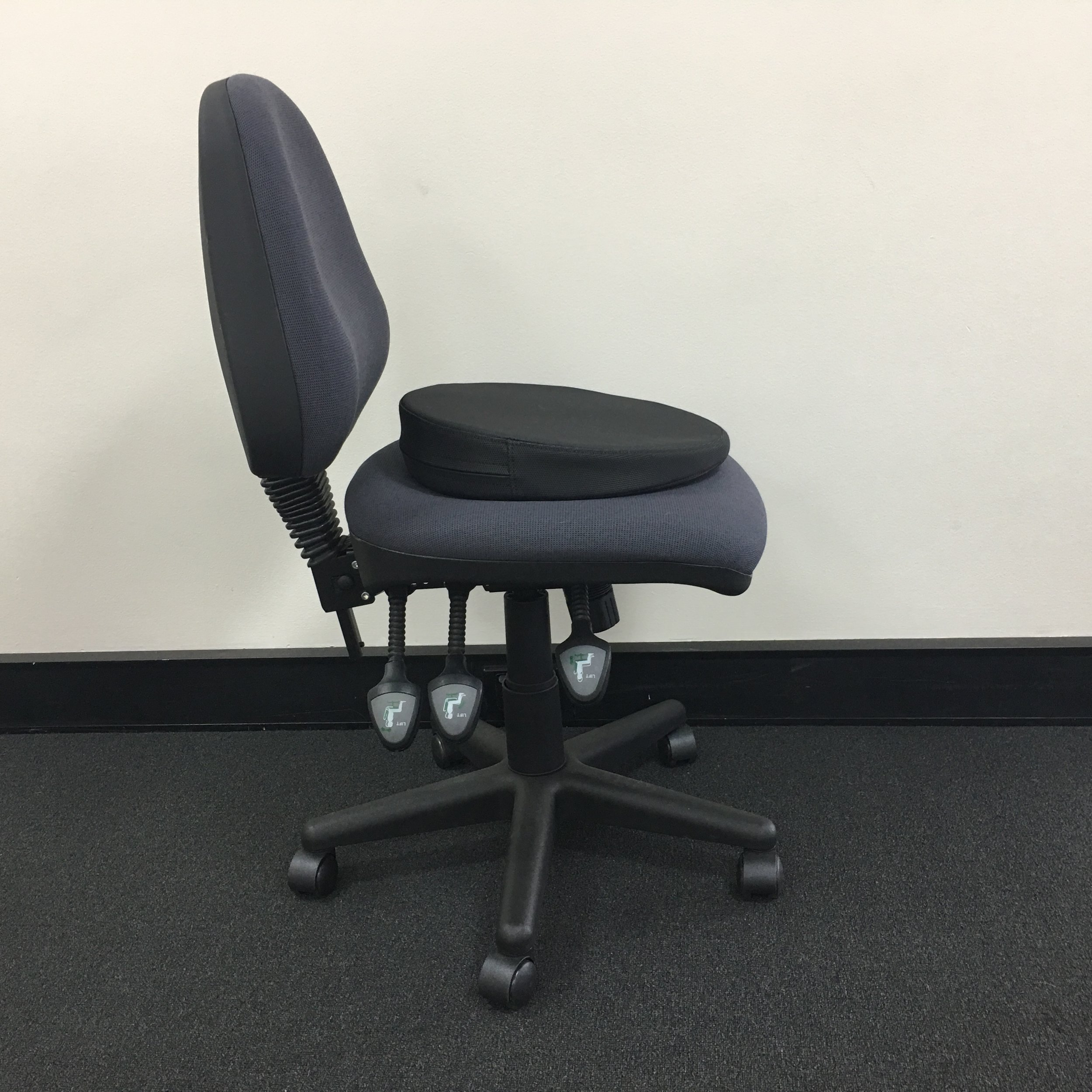 office chair you sit backwards ergonomic new zealand optimum dental posture products in the workshops practitioners train inner ergonomics learning how to on their bones and pivot forward at hip