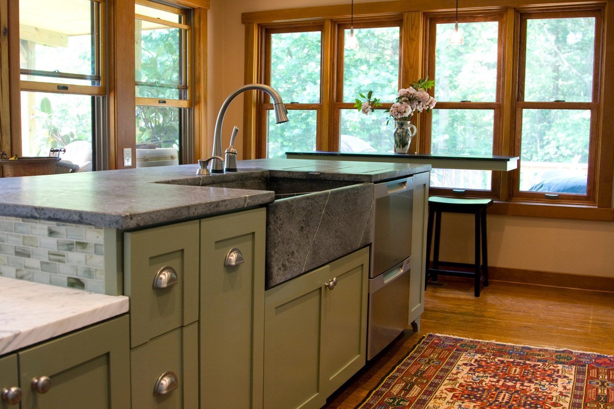 soapstone kitchen hands free faucet the enduring low maintenance no fuss natural stone in it s state without wax or oil