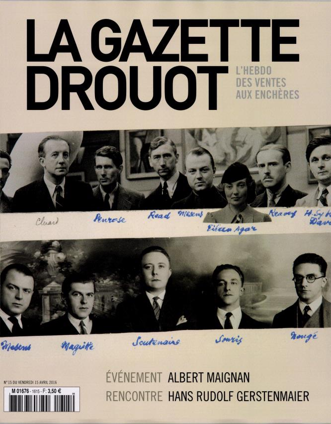 La Gazette Drouot - Avril 2016