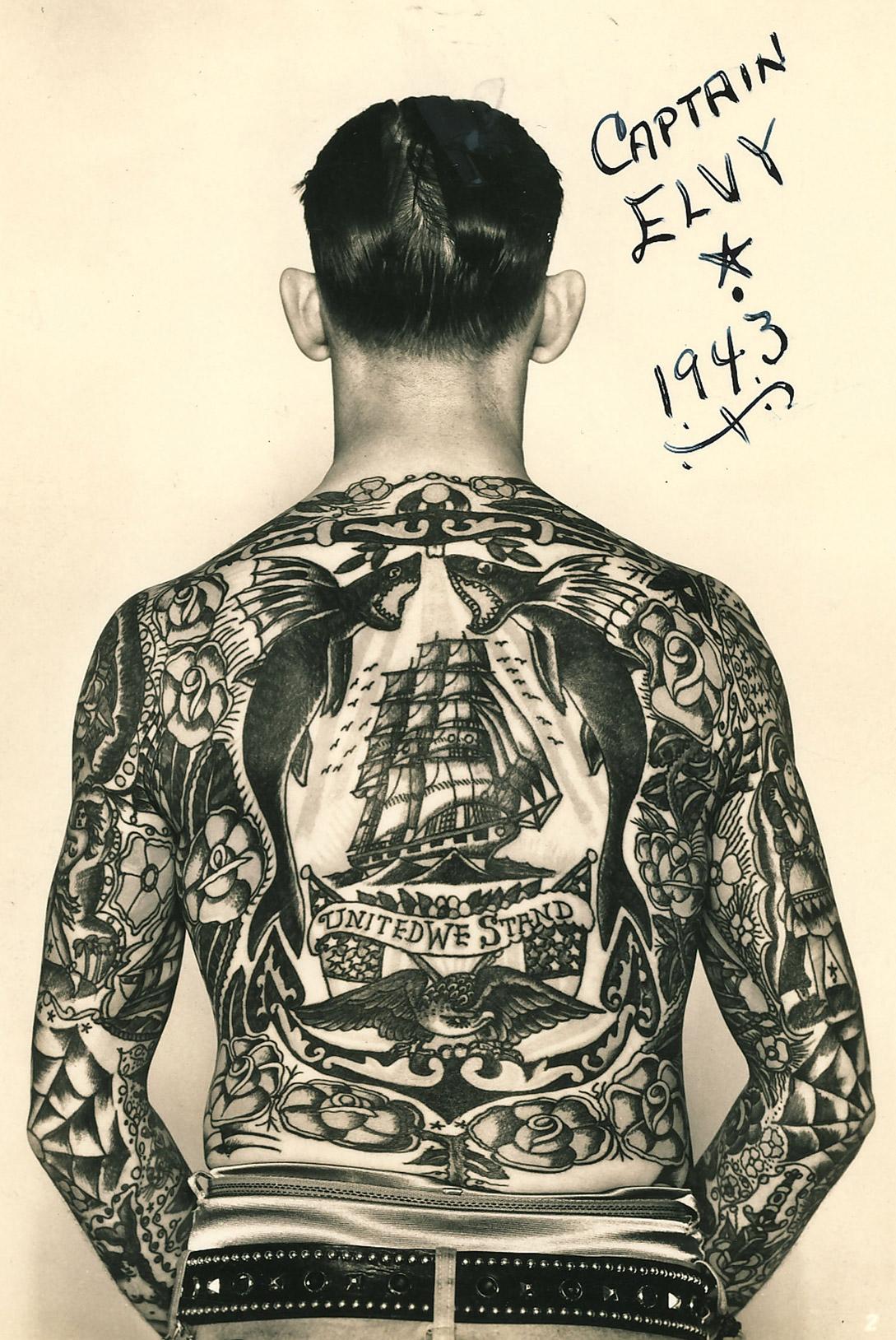 [刺青] 航海夢中飄泊的紅黑色浪漫:美式傳統刺青 — CMMN SNSS