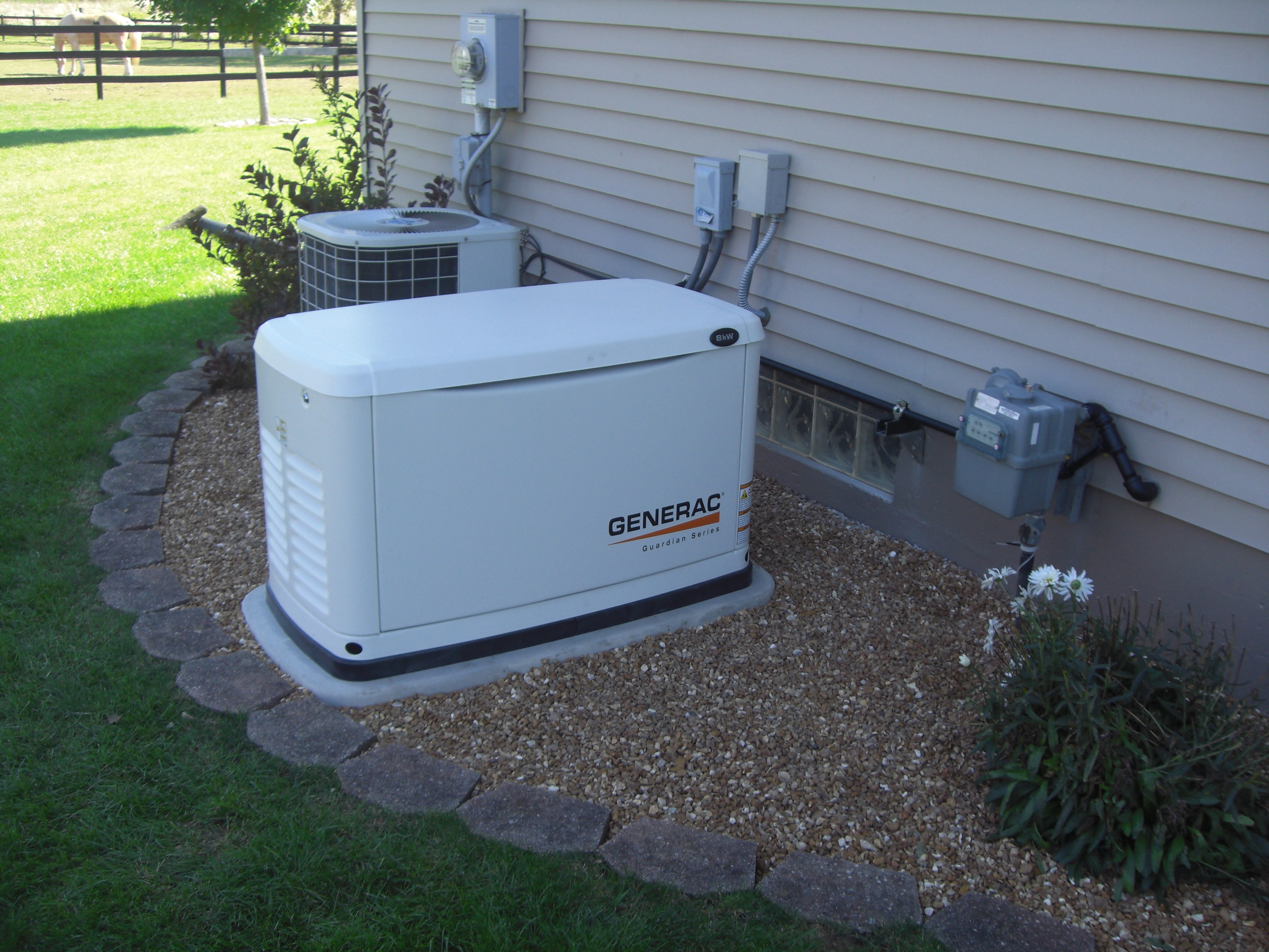 Home Electrical Service Before The Installation Of A Standby Generator