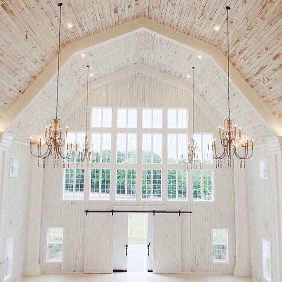 Barn Interior Wedding Venue Ideas The Bohemian Wedding