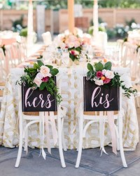 Romantic Sweetheart Table Settings for a Wedding Reception ...