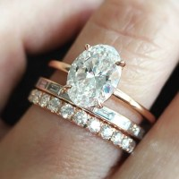 Stunning Oval Engagement Ring Styles  the bohemian wedding