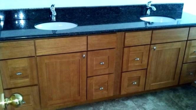 Astonishing Double Sink Vanity With Granite Top Ideas - Best Image ...
