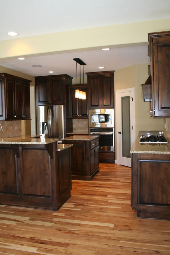 Pictures Of Kitchens With Hickory Floors  Wow Blog