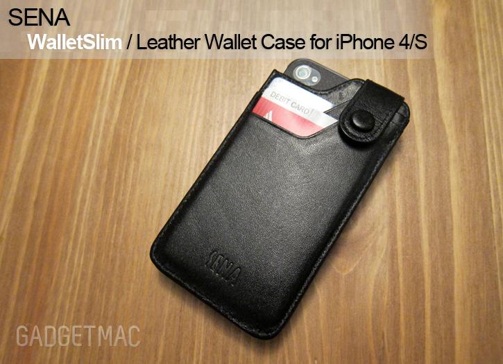 Sena WalletSlim Case For IPhone 4S Review Gadgetmac