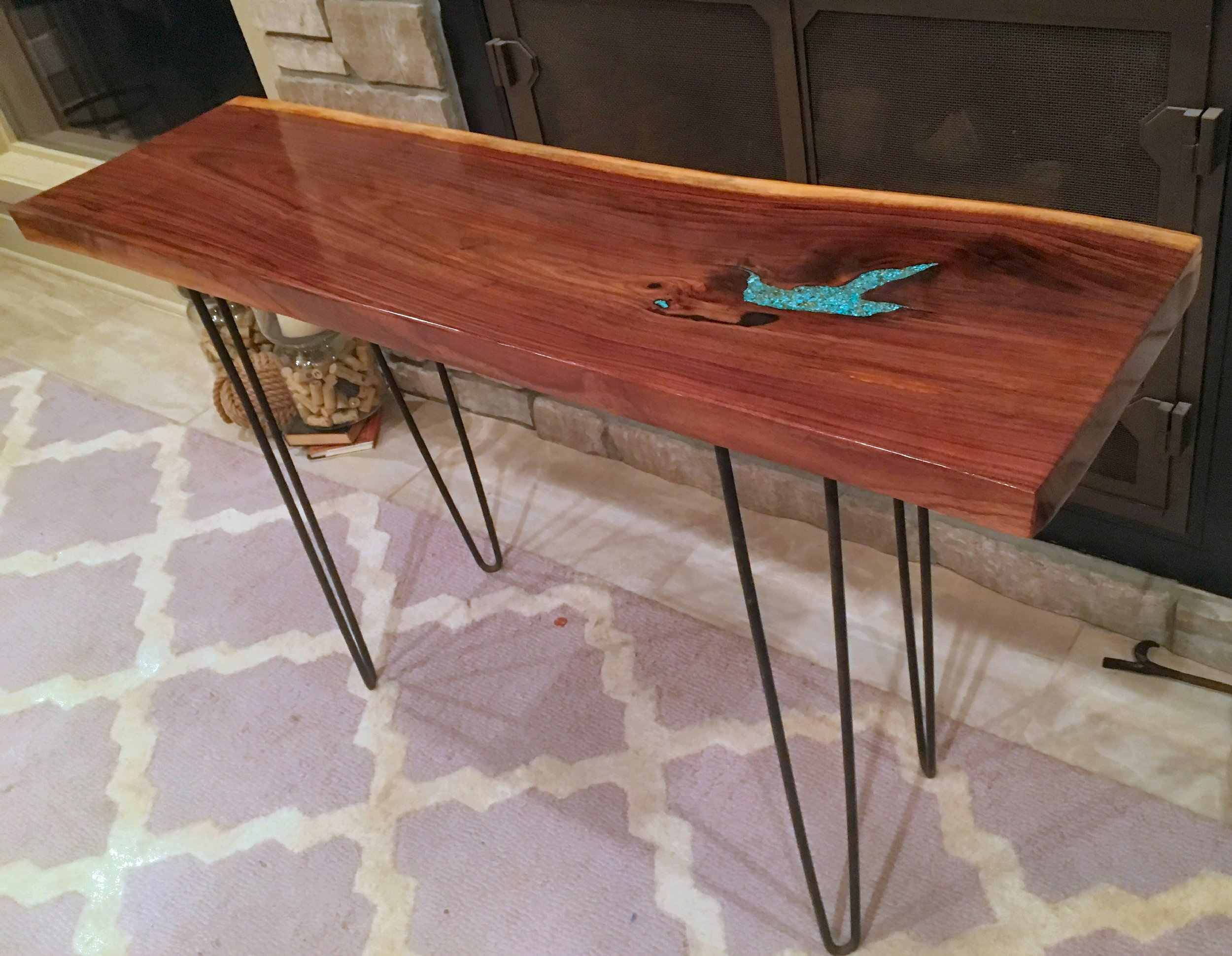 Live Edge Table Legs