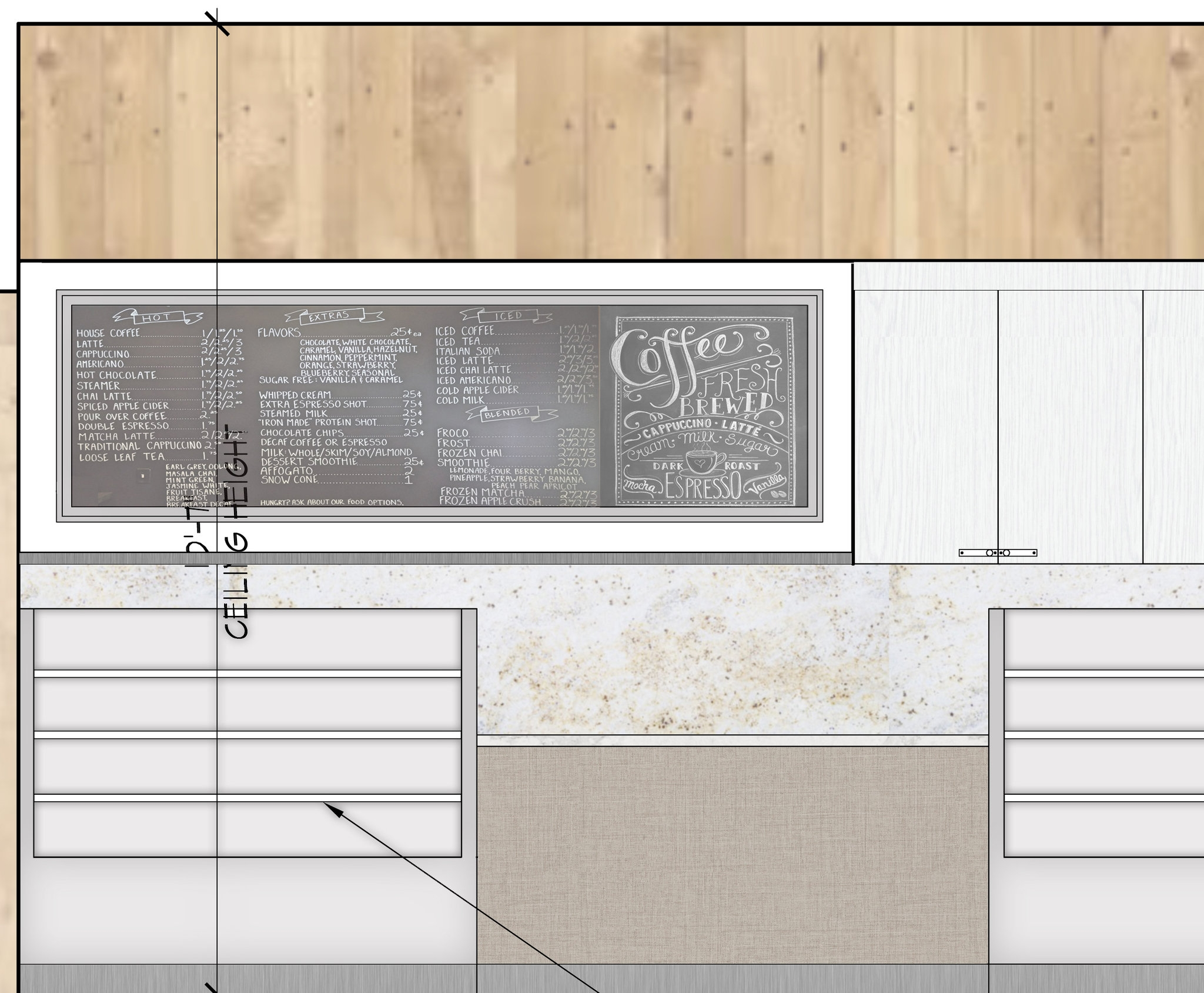 vyne food market design interior design firm new york tobin parnes design [ 1500 x 1236 Pixel ]