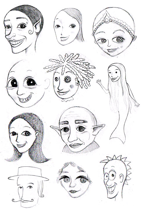 How to Draw Whimsical Faces: Tips for Drawing Whimsical