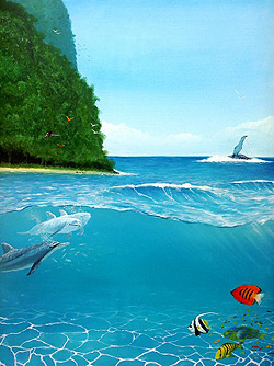 The Ocean Art of Alan Minshull A Gallery of Realistic