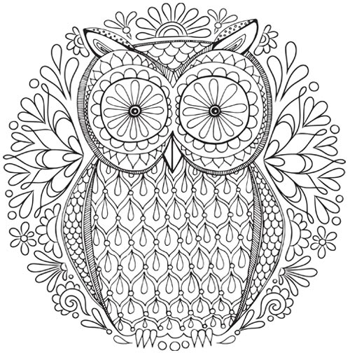 Coloring: Printable E-Books, Published Adult Coloring