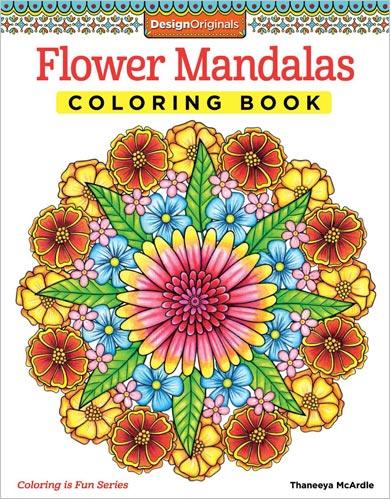 Michaels Flower Mandalas Coloring Book By Thaneeya Mcardle