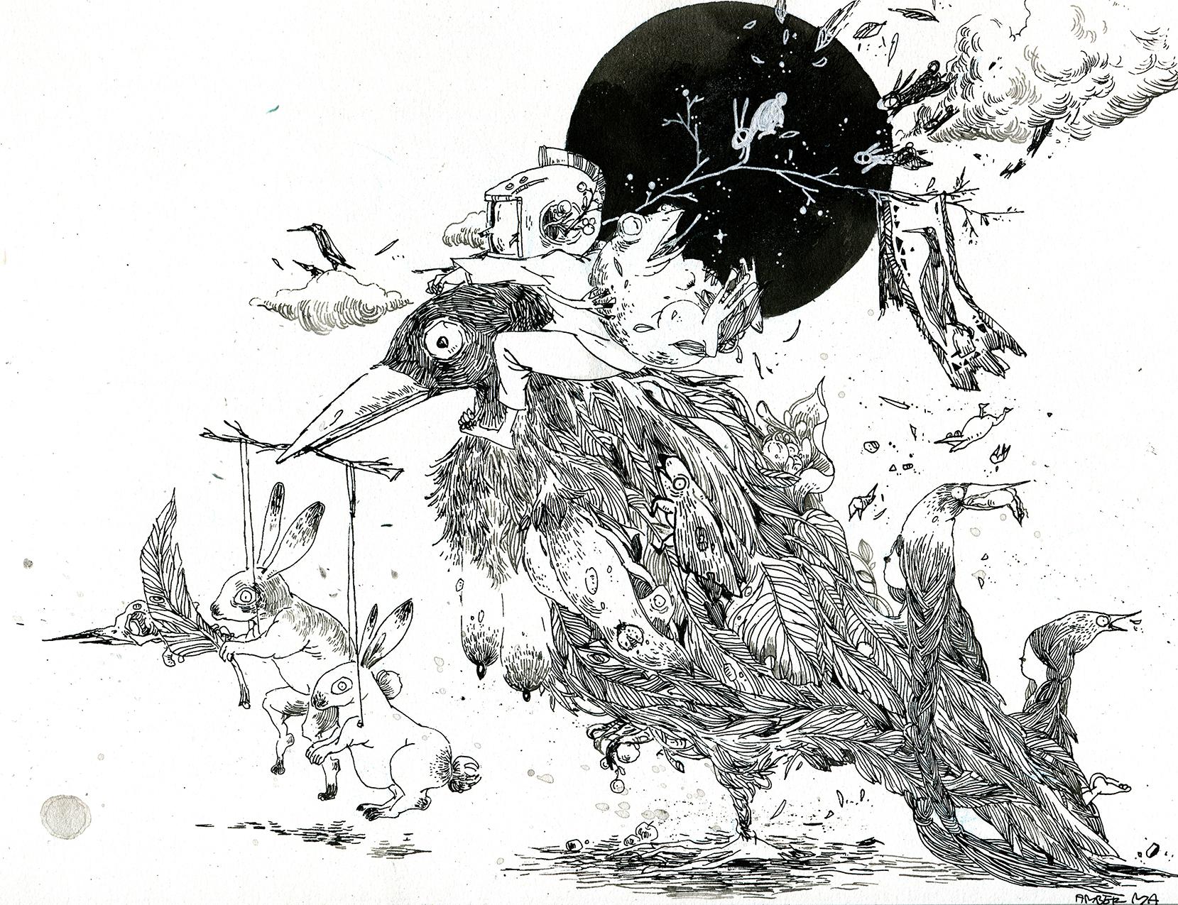 Amber Ma's art Portfolio