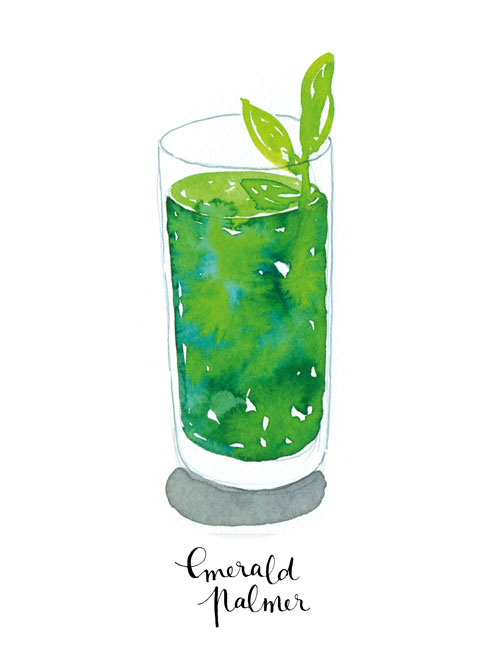 Free Fall Colors Wallpaper New Work Watercolor Cocktails Nathalie Ouederni