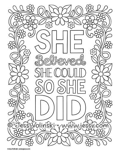 Positively Inspired — Jess Volinski