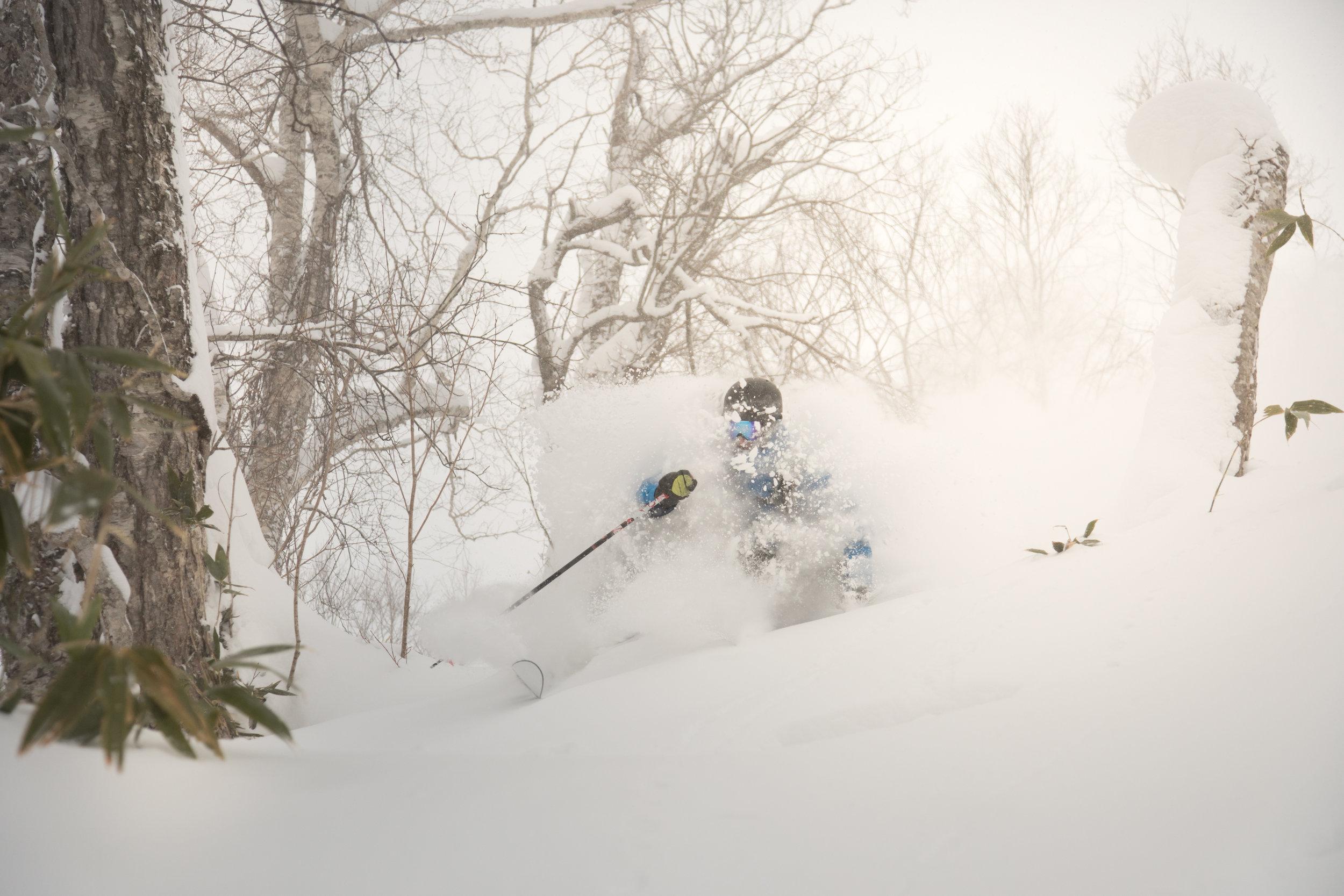 Mike Friends In Hakuba Snowlocals