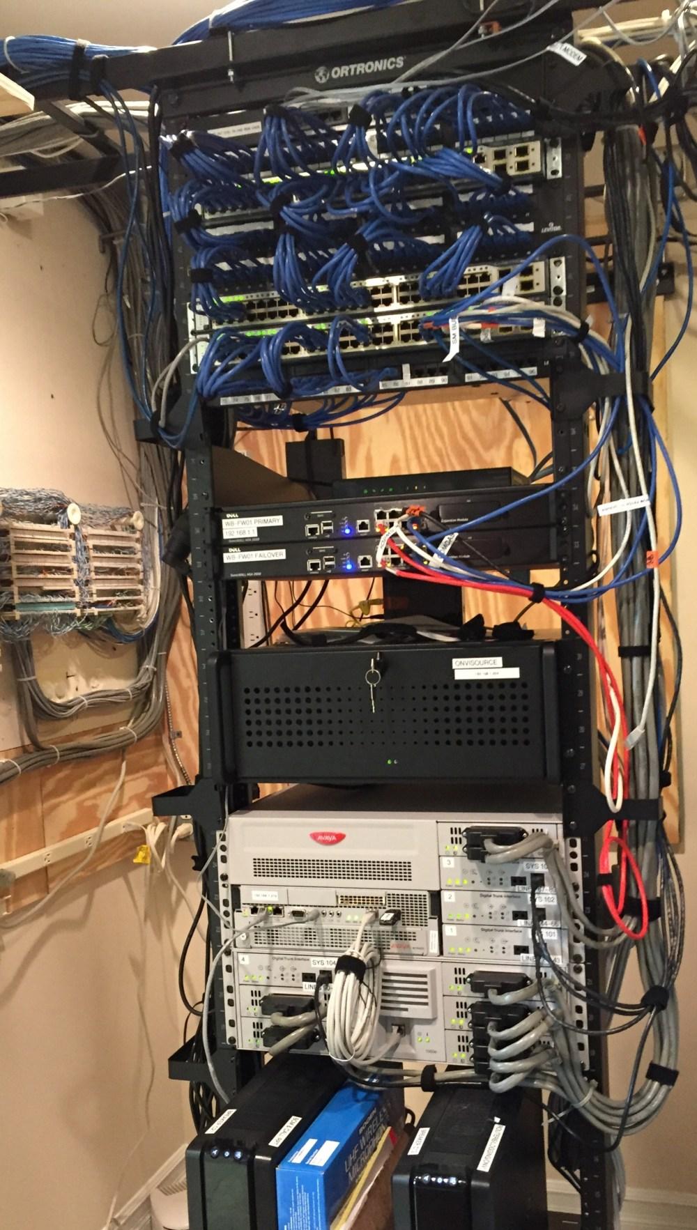 medium resolution of avaya nortel bcm 450 phone system installation