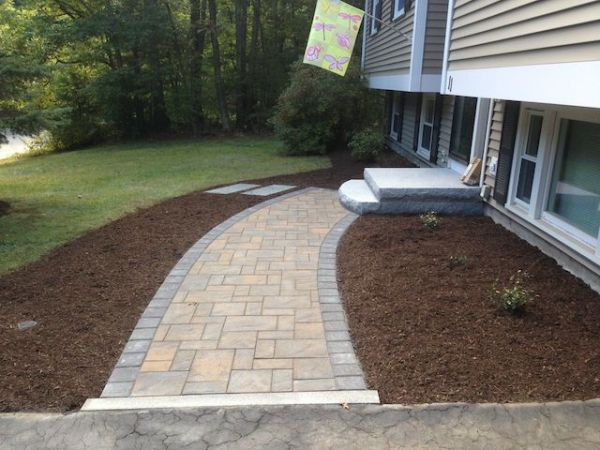entrances and steps landscaping