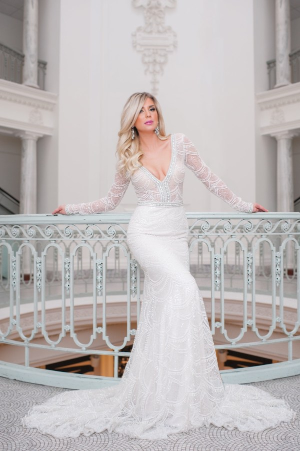 Deco Glam In Wedluxe Elsa Corsi Couture Jewellery