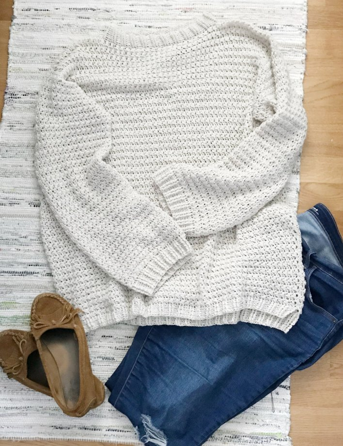 Lee's Sweater free crochet pattern by CoCo Crochet Lee