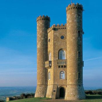 Broadway Tower Highest Little Castle In Cotswolds
