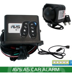 the avs a5 is a great five star car alarm packed full of good features and all at an affordable price  [ 1000 x 1000 Pixel ]
