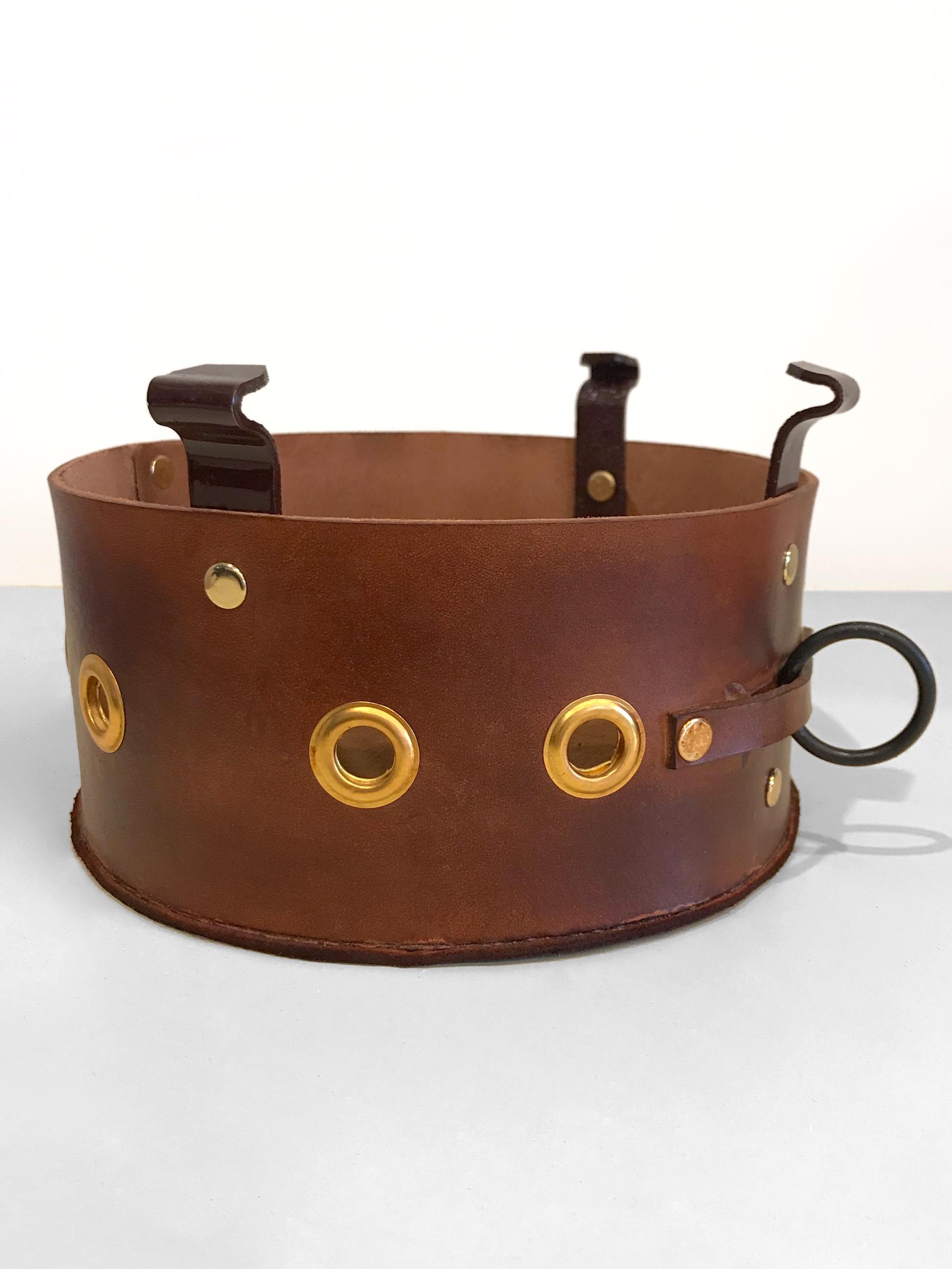 leather trombone bucket mute