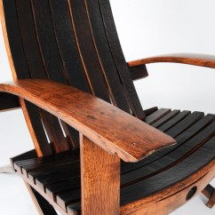 Wine Barrel Chair Modern Reception Chairs Burgundy Wood Co