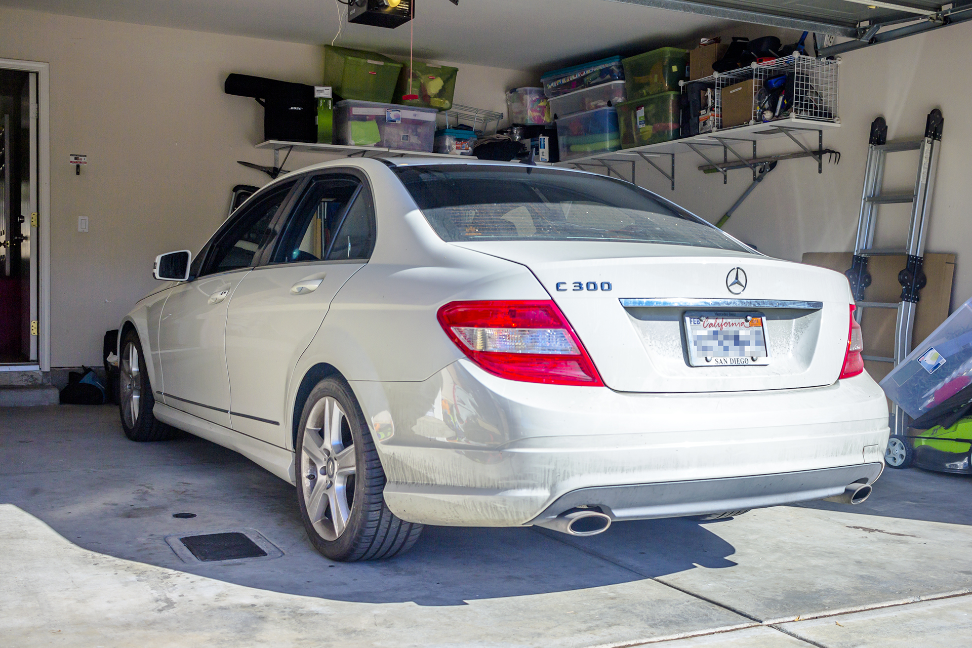 this 2010 mercedes benz c300 adds a backup camera and audio  [ 1920 x 1280 Pixel ]
