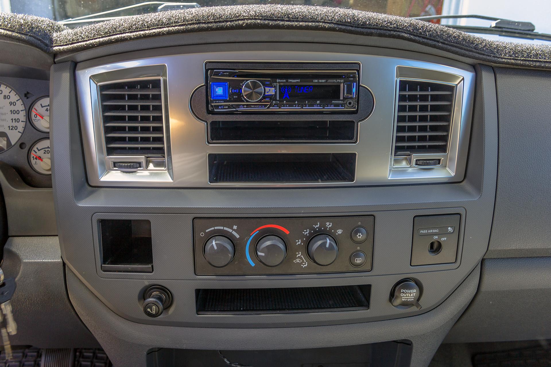 2007 Dodge Ram 2500 Radio Wiring Harness