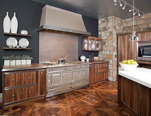 la cornue kitchen gray mat le magnifique the designer