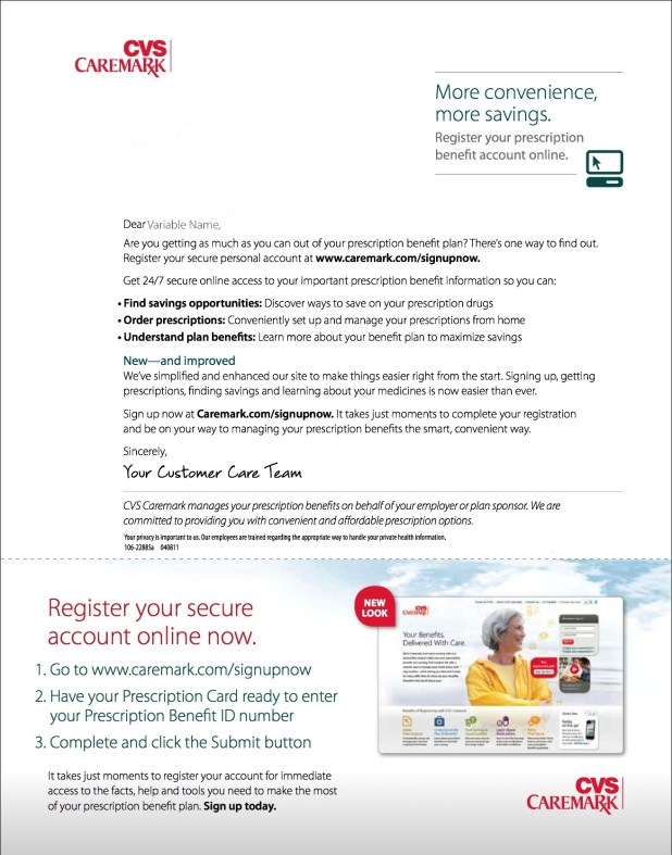 cvs caremark larry duran - Cvs Prescription Card