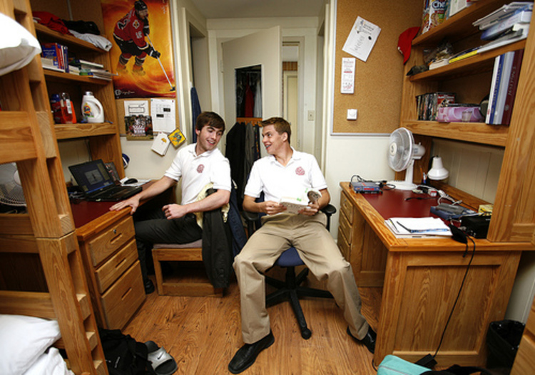Roommates With Same Schedule Left With No Choice But To