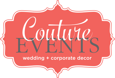 couture chair covers and events skirted wingback rentals
