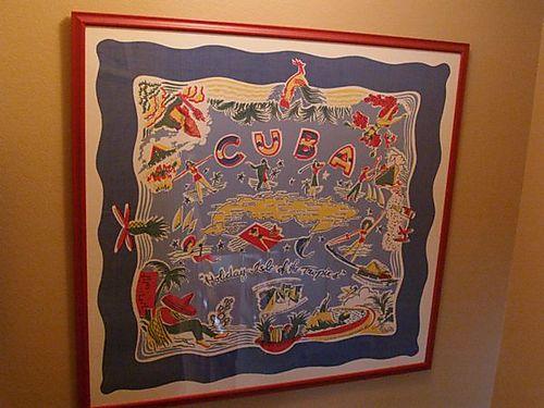 Cuba tablecloth