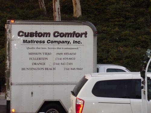 Custom comfort mattress